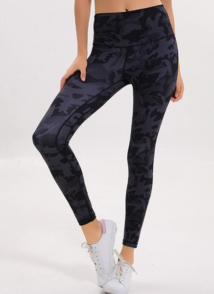 Women's Athletic Casual Polyester Yoga Pants Fitness & Yoga_3