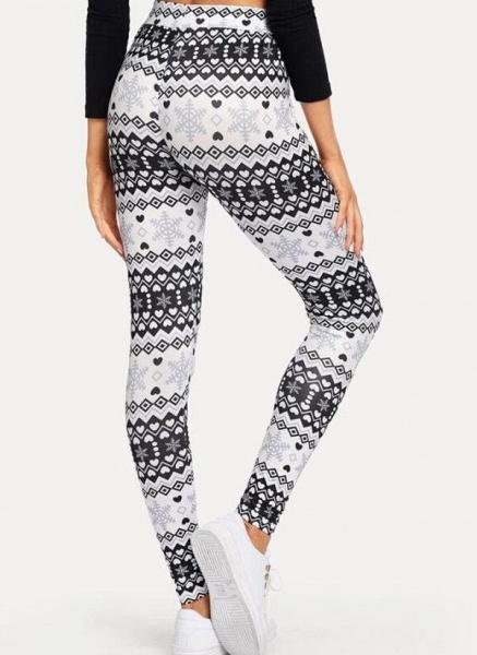 Women's Athletic Casual Polyester Yoga Leggings Fitness & Yoga_1