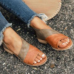 Women's Split Joint Flats Flat Heel Sandals_2