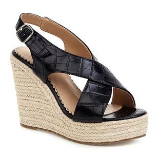 Women's Buckle Slingbacks Wedge Heel Sandals_2