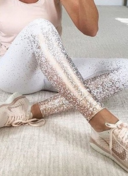 Women's Athletic Casual Polyester Spandex Fitness Pants Fitness & Yoga_2