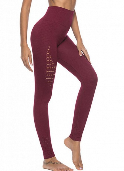 Women's Athletic Casual Polyester Spandex Fitness Pants Fitness & Yoga_4