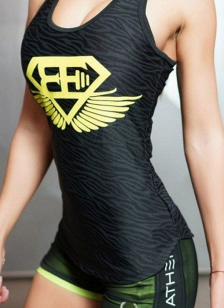 Women's Athletic Casual Sporty Polyester Yoga Leggings Fitness & Yoga_5