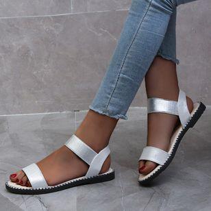 Women's Slingbacks Flat Heel Sandals_6