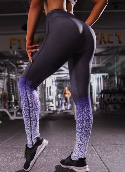 Women's Athletic Casual Polyester Spandex Fitness Pants Fitness & Yoga_3