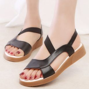 Women's Slingbacks Flat Heel Sandals_3