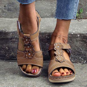 Women's Flats Slingbacks Flat Heel Sandals Platforms_1