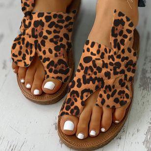 Women's Bowknot Flats Cloth Flat Heel Sandals_14