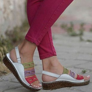 Women's Slingbacks Flat Heel Sandals_2