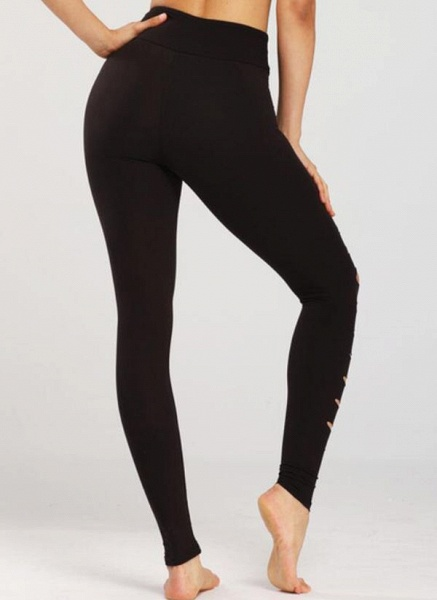 Women's Athletic Casual Sporty Polyester Fitness Pants Fitness & Yoga_2