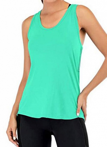 Women's Athletic Casual Sporty Polyester Yoga Vest Fitness & Yoga_8