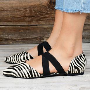 Women's Closed Toe Flat Heel Sandals_1