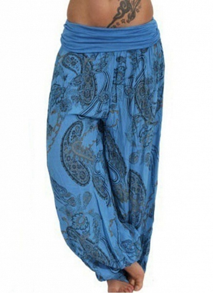 Women's Casual Polyester Yoga Bottoms Fitness & Yoga_3