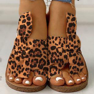 Women's Bowknot Flats Cloth Flat Heel Sandals_9