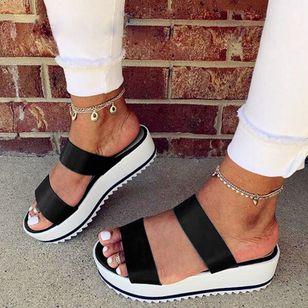Women's Slingbacks Nubuck Wedge Heel Sandals_3