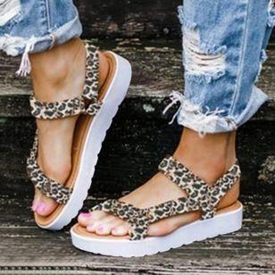 Women's Flats Cloth Flat Heel Sandals Platforms_4