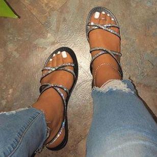 Women's Flats Slingbacks Flat Heel Sandals_1