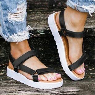 Women's Flats Cloth Flat Heel Sandals Platforms_3