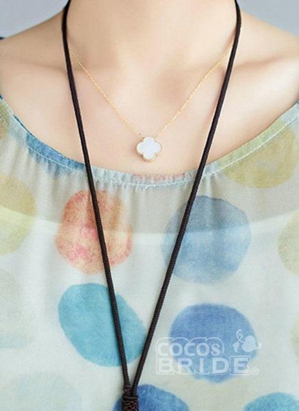 Multicolor Plus Size Tunic Polka Dot Round Neckline Casual Wrap Plus Dress_5