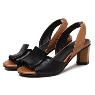 Women's Slingbacks Chunky Heel Sandals_1
