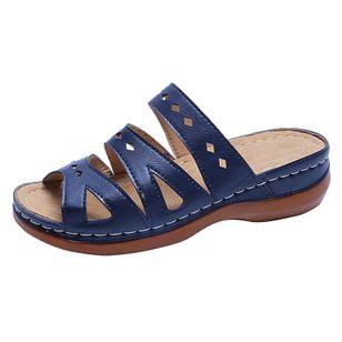Women's Hollow-out Heels Wedge Heel Sandals_1