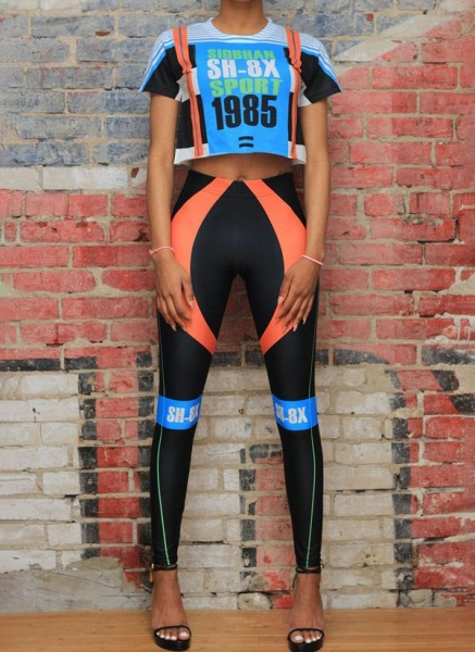 Women's Athletic Sporty Fashion Polyester Fitness Clothing Suit Fitness & Yoga_7