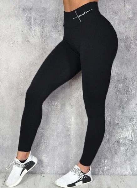 Women's Athletic Sexy Acrylic Fitness Pants Fitness & Yoga_4