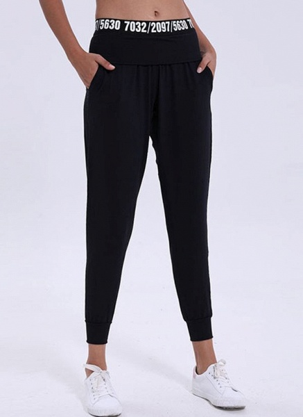 Women's Athletic Casual Polyester Fitness Pants Fitness & Yoga_1