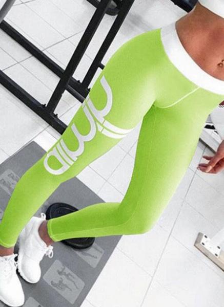 Women's Athletic Sporty Fashion Polyester Yoga Bottoms Fitness & Yoga_6