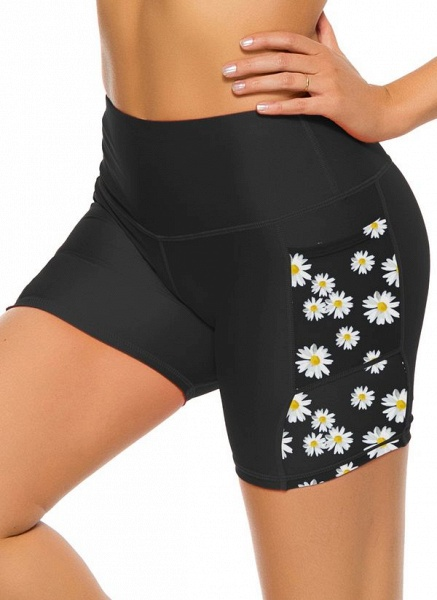 Women's Casual Nylon Spandex Yoga Bottoms Fitness & Yoga_3