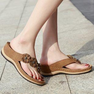 Women's Peep Toe Slingbacks Wedge Heel Sandals_2