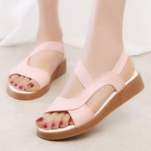 Women's Slingbacks Flat Heel Sandals_1