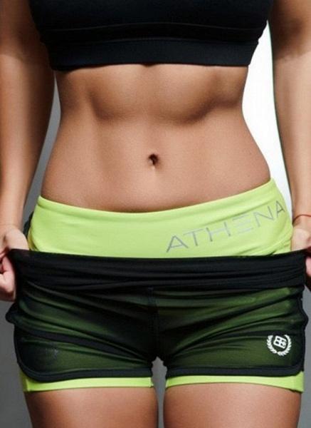 Women's Athletic Casual Sporty Polyester Yoga Leggings Fitness & Yoga_3
