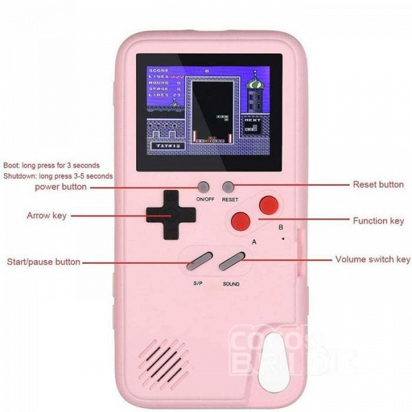 Gameboy iPhone Case with 36 Classic Games(Buy 2 Get Extra $5 OFF and Free Shipping, Code: OP5)_7