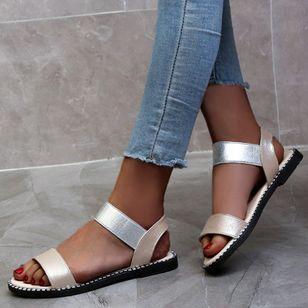 Women's Slingbacks Flat Heel Sandals_3