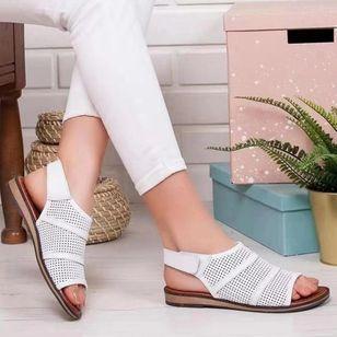 Women's Hollow-out Slingbacks Wedge Heel Sandals_2