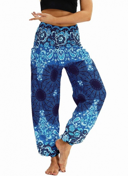 Women's Athletic Casual Sporty Polyester Yoga Bottoms Fitness & Yoga_12