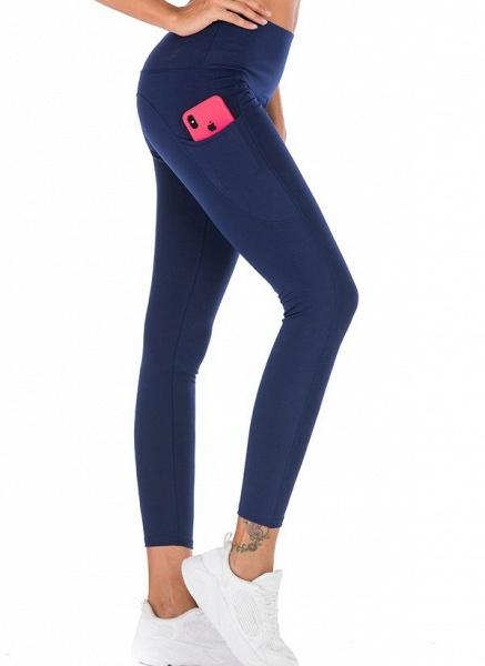 Women's Casual Polyester Yoga Leggings Fitness & Yoga_7