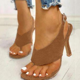 Women's Buckle Slingbacks Flip-Flops Stiletto Heel Sandals_4