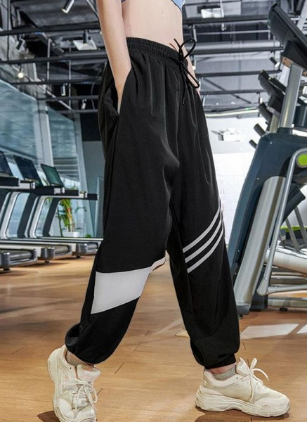 Women's Athletic Casual Sporty Polyester Fitness Bottoms Fitness & Yoga_4