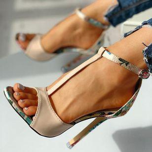 Women's Buckle Heels Stiletto Heel Sandals_5