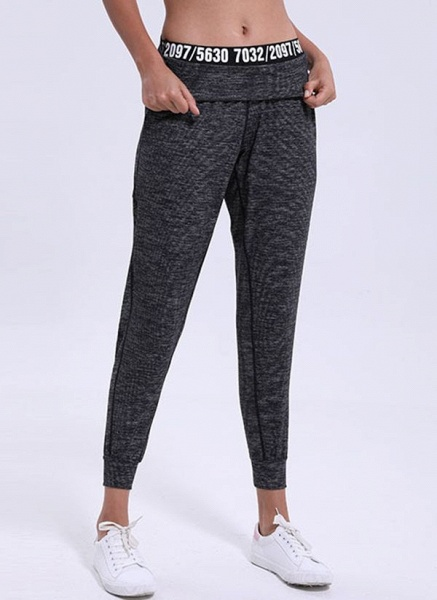Women's Athletic Casual Polyester Fitness Pants Fitness & Yoga_2