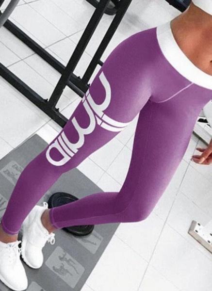 Women's Athletic Sporty Fashion Polyester Yoga Bottoms Fitness & Yoga_7