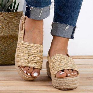 Women's Buckle Slingbacks Low Heel Sandals_3