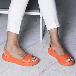 Women's Slingbacks Flat Heel Sandals_5