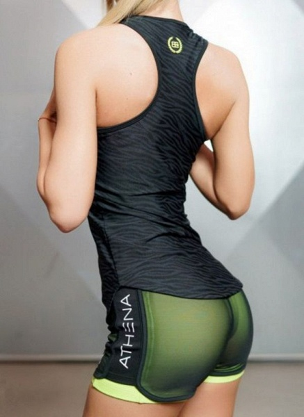 Women's Athletic Casual Sporty Polyester Yoga Leggings Fitness & Yoga_4