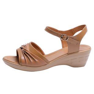 Women's Buckle Slingbacks Low Heel Sandals_1