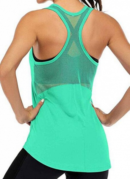Women's Athletic Casual Sporty Polyester Yoga Vest Fitness & Yoga_4