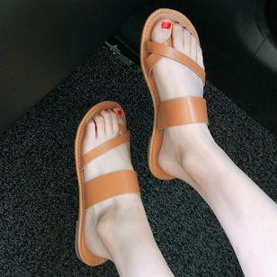 Women's Flats Toe Ring Flat Heel Sandals_3