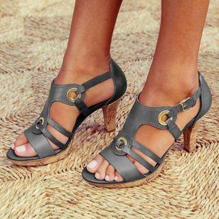 Women's Heels Flat Heel Sandals_1